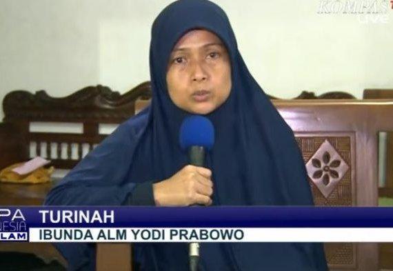 Bantah Yodi Prabowo Bunuh Diri, Ibunda Bongkar Gerak-gerik Aneh Editor Metro TV Sebelum Tewas