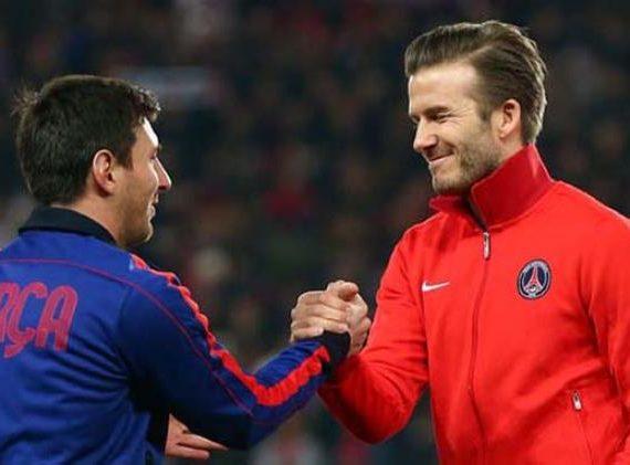 David Beckham Akui Level Lionel Messi Masih Lebih Tinggi dari Cristiano Ronaldo