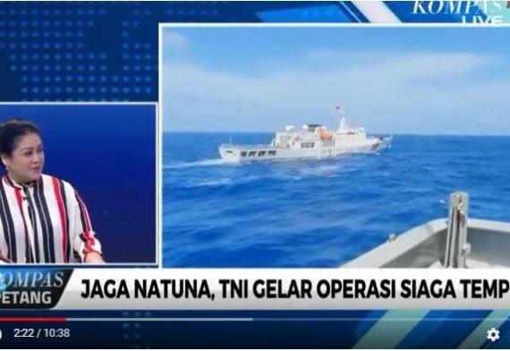 Laut Natuna Diklaim China, Pengamat Militer Pertanyakan Visi Poros Maritim Jokowi