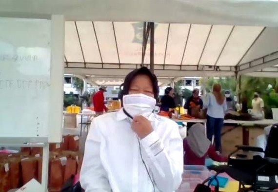 Arahan Khusus Risma buat Wilayah dengan Banyak Kasus Covid-19 di Surabaya