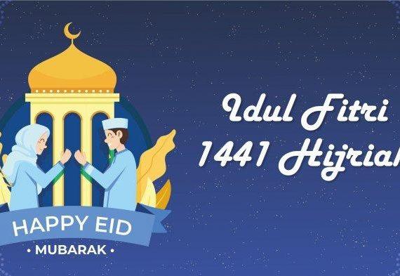 Beserta Panduannya Contoh Naskah Khutbah Idul Fitri 1441 H/2020 tentang Konsep Meraih Kebahagiaan