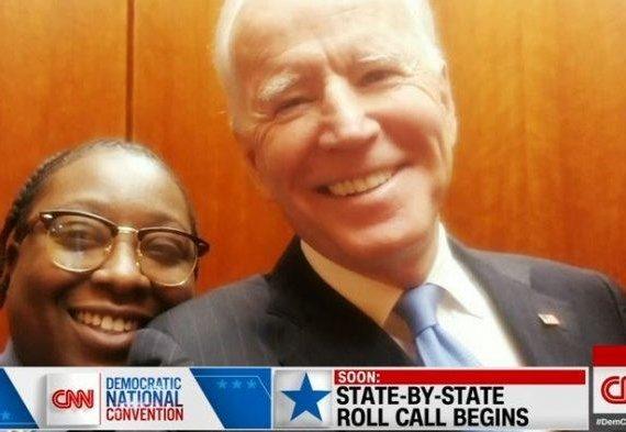 Satpam yang Sempat Viral saat Bertemu Joe Biden di Lift Berikan Pidato Pertama di Konvensi Demokrat